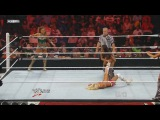 (WWEWM) WWE Monday Night Raw 15.08.2011 Kelly Kelly &amp Eve Torres vs. Brie Bella &amp Nikki Bella