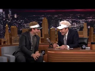 Jimmy Fallon and Bradley Cooper can't stop laughing ))))))