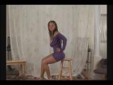 Christina Model Purple Dress